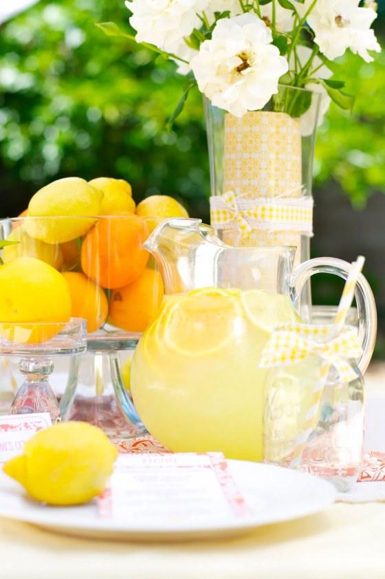 Lemon Themed Party