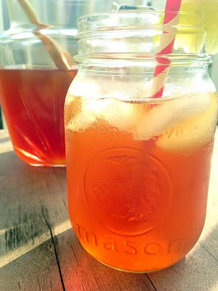 Peachy Lime Iced Tea 5